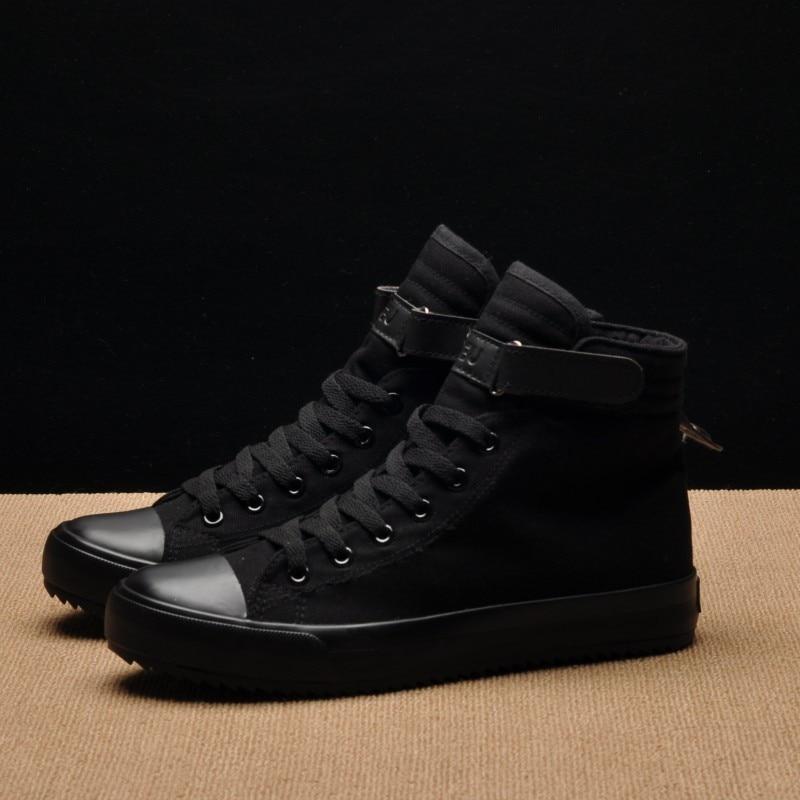 Men Casual Shoes Breathable Black