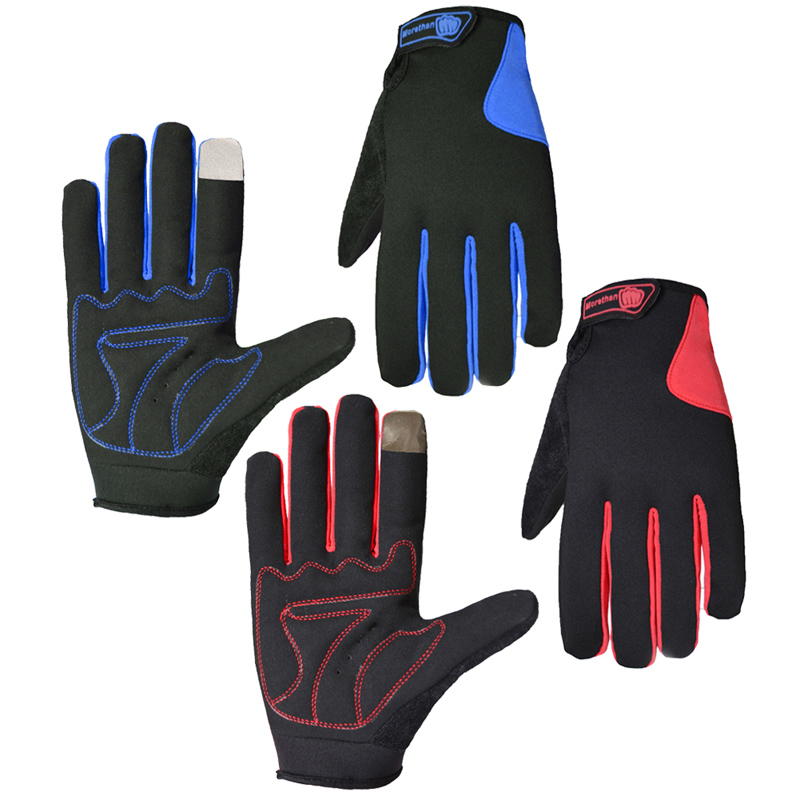 Winter Warm Cycling font b Gloves b font Bicycle Motorcycle Sport Full Finger font b Gloves