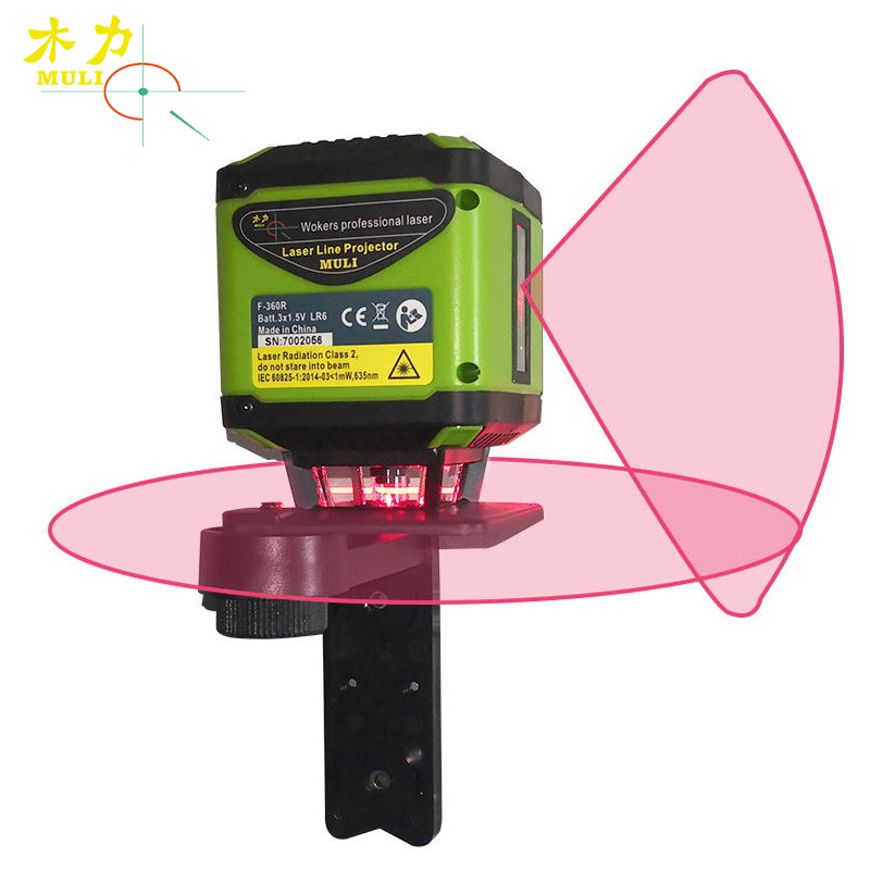 все цены на muli Portable 5 Lines Red Beam Floor Laser Level for Tile Laying Square Leveling Cross Line Laser 360 Degrees Horizontal Cover онлайн