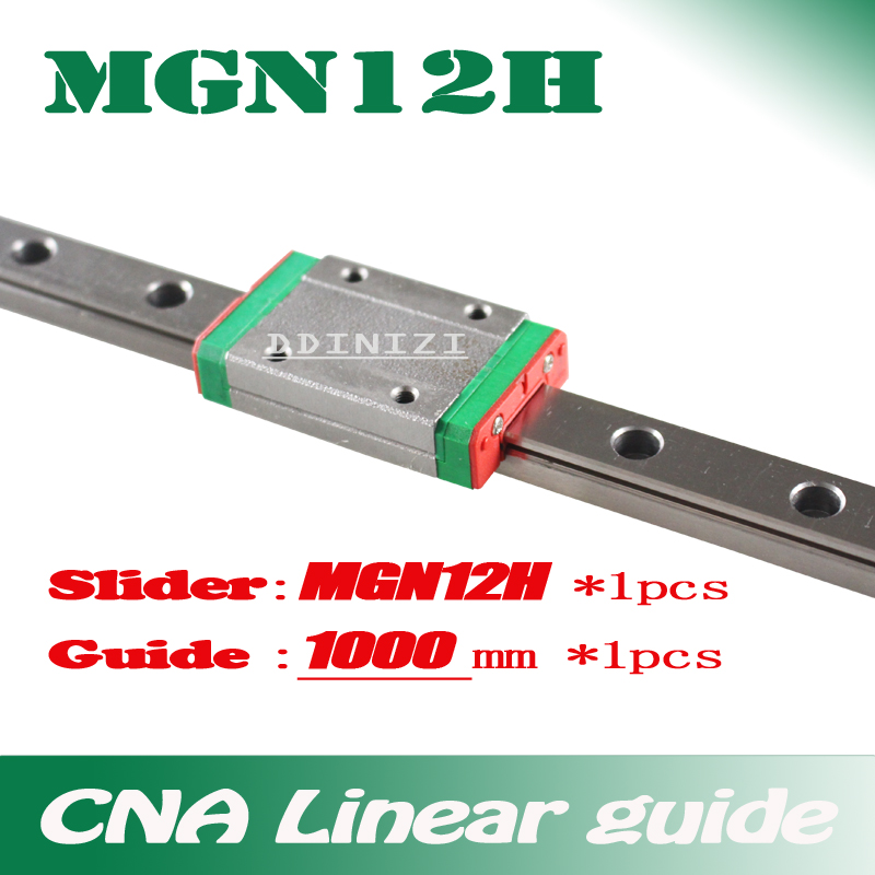 Kossel Mini 3D MR12 MGN12 400mm 12mm linear rail miniature slide MGN12H carriage
