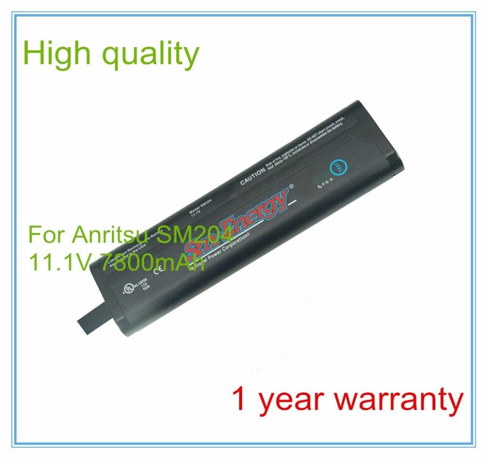 Remplacement Pour Analyseurs De Spectre Portable SM204 633-75 633-44 MS2721A MS2721B MS2723B MS2724B Spectre Maste Batterie