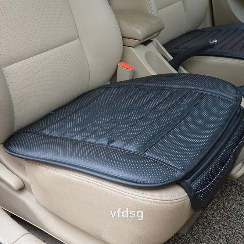 Car seat cushion Car-styling Four Seasons pu Leather Cushions car seat Covers For Mercedes Car seat mat
