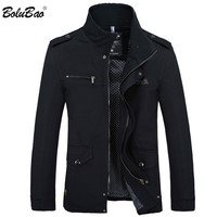 BOLUBAO 2018 Men Jacket Coat New Fashion Trench Coat New Autumn Brand Casual Silm Fit Overcoat Jacket Male