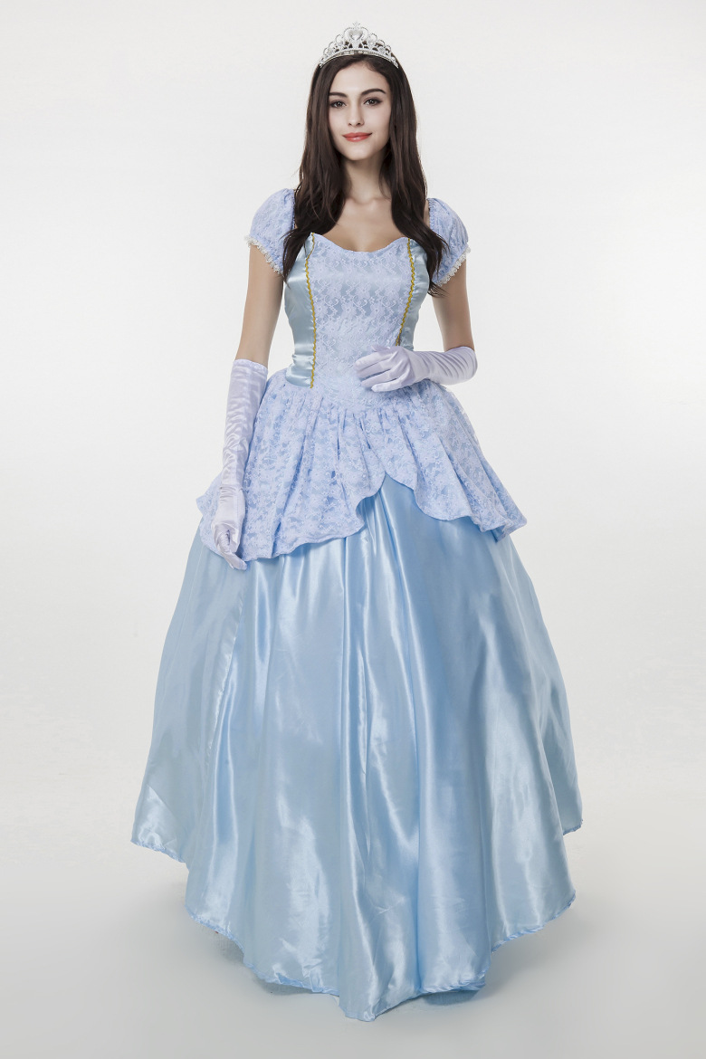Halloween Party Costumes Sissi Cosplay Christmas Women Fancy Blue ...