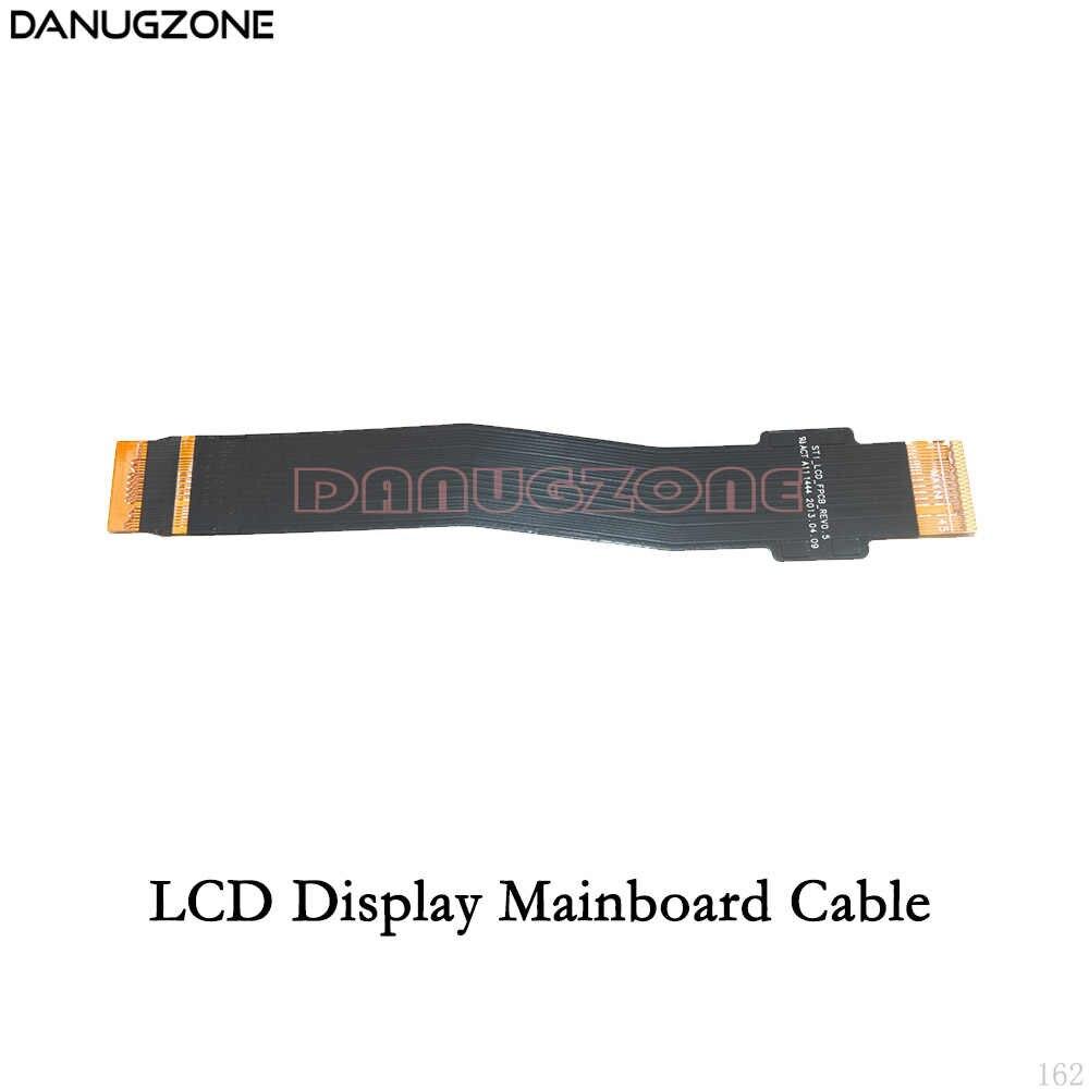 USB ميناء الشحن موصل تهمة المقبس قوة حجم زر شاشة الكريستال السائل الكابلات المرنة لسامسونج غالاكسي T530 SM-T530 T531 T535
