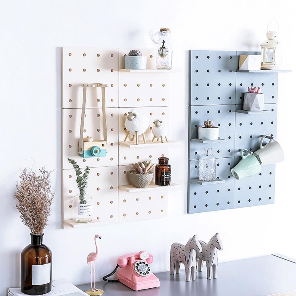 Plastic Cotton Wall Door Hanging Wall Hanging Shelf Fashionable Durable Environmental Protection Storage Shelf Home Decoration