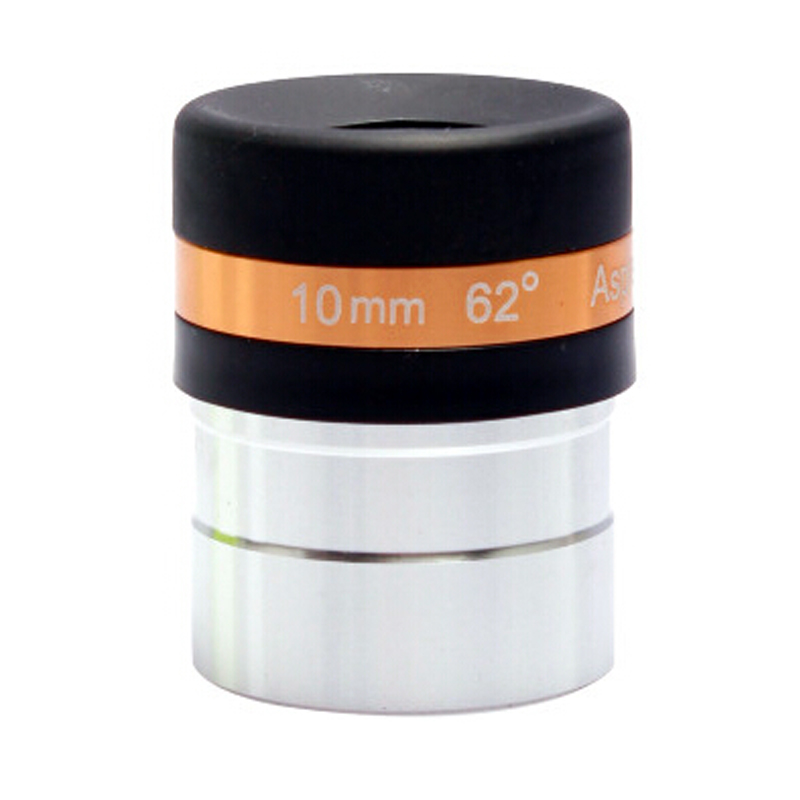 Free shippng iCelestron 62 degree wide-angle eyepiece telescope 10mm 1.25 inch professional genuine accessories one piece 10mm