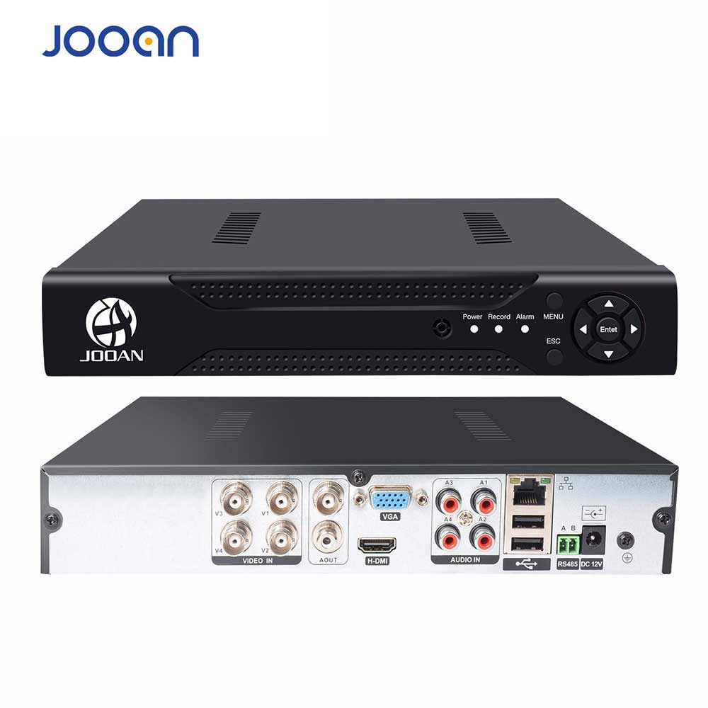 JOOAN 4CH 8CH 16CH CCTV DVR Security System 1080N H.264 HD-Output P2P Hybrid 5 in 1 Onvif IP Camera TVI CVI AHD Video Recorder JOOAN 4CH 8CH 16CH CCTV DVR Security System 1080N H.264 HD-Output P2P Hybrid 5 in 1 Onvif IP Camera TVI CVI AHD Video Recorder