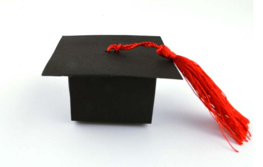 10pcs/lot! Doctor Hat Cap Candy Box Graduation Celebration Party Decoration Favor Boxes Gift Packing