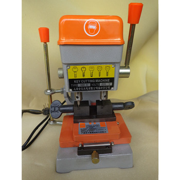 AC 220V 368A electric key copy machine, multi-function manual vertical key punch machine for pit-shaped, serpentine.