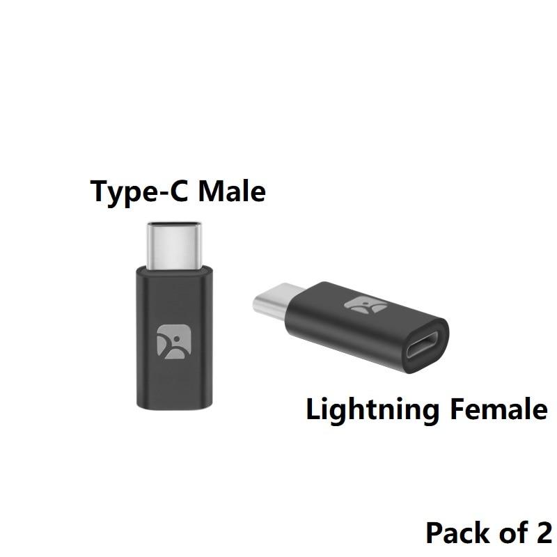 meenova lightning female to type c male adapter lightning. Black Bedroom Furniture Sets. Home Design Ideas