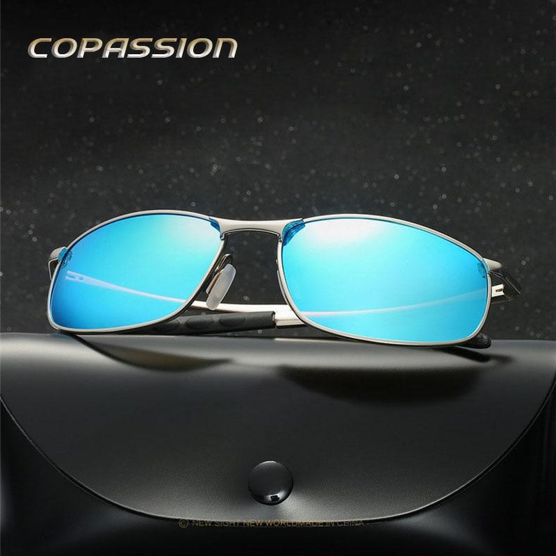 Outdoor Polarized sunglasses man women Brand design 2017 Magnesium Aluminum driving glasses Goggles uv400 Eyewear gafas de sol