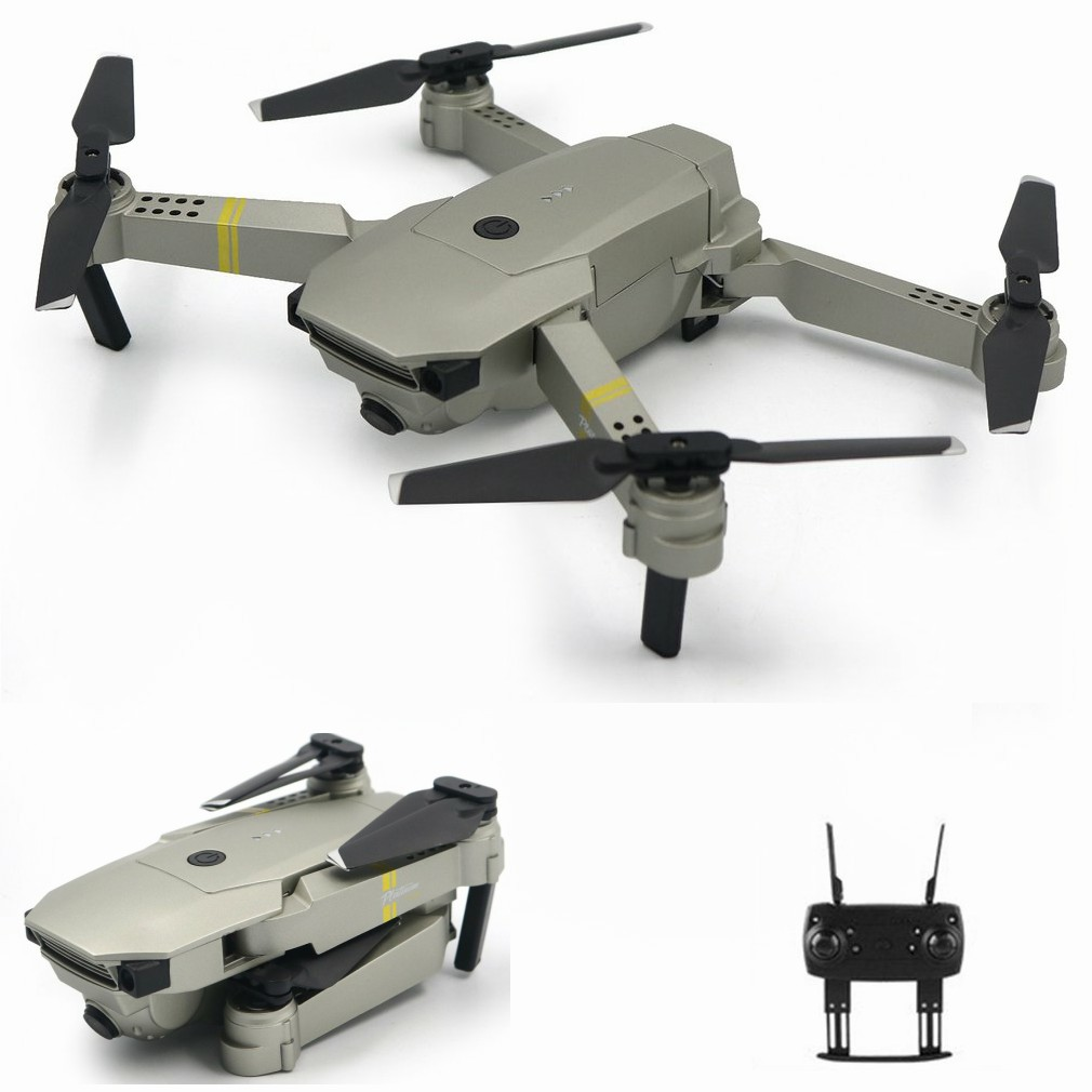 GD88 Foldable RC Selfie Drone Quadcopter Aircraft UAV with 720P Wide Angle HD/0.3MP WIFI FPV Camera Altitude Hold 2/3 Batteries