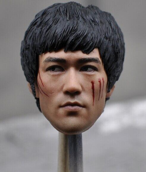 1 6 Scale Figure Head Sculpt Bruce Lee