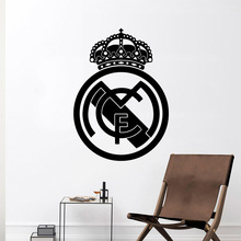 Classic football Wall Sticker Soccer FC Home Decor Girls Bedroom Stickers For Kids Room Living Room Home Decor Wall Decoration mirror wall stickers sticker room decoration home decor kids for bedroom variety fonts name letters alphabet customizable r242