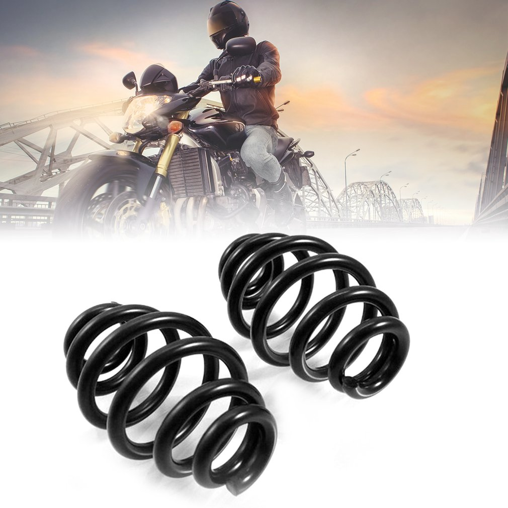 Newest 1 Pair Motorcycle 3 Solo Seat Barrel Springs Professional Steel Spring For Harley Chopper Bobber