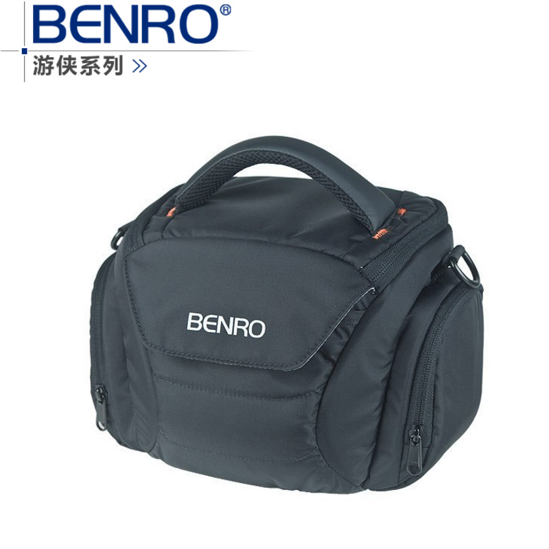 Benro Ranger S30 one shoulder professional camera bag slr camera bag rain cover bagsmart dslr slr camera shoulder bag water repellent polyester with rain cover green grey black