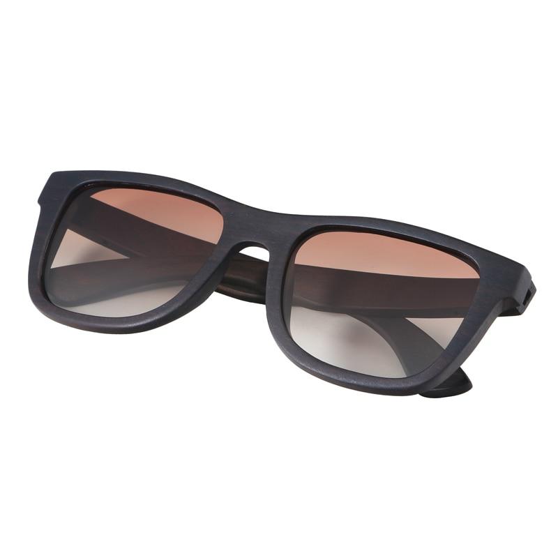 BerWer 100% Natural Ebony Wooden Sonnenbrille Unisex Polarized Sun - Bekleidungszubehör - Foto 5