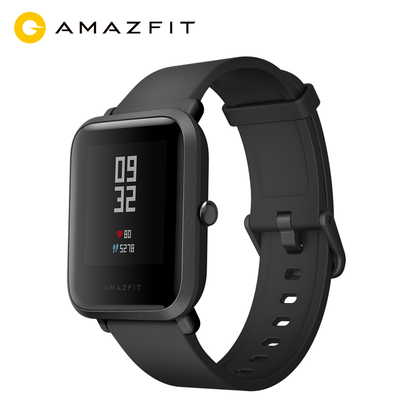 Original Xiaomi Amazfit Bip Smart Wristband,Fashion Smart Watch,Heart Rate Pulse Monitor,GPS,WiFi,Long Standby,for Smart Phone original xiaomi huami amazfit bip smart wristband watch gps smart clock heart rate pulse monitor long standby 1 28 touch screen