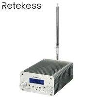 RETEKESS TR501 PLL fm-передатчик 1 Вт/6 Вт стерео ЧМ-вещание передатчик станция для Конференции обучения на открытом воздухе
