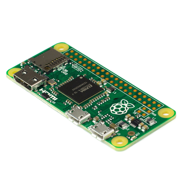 Ahududu Pi Sıfır ile 1 GHz CPU 512 MB RAM Linux OS 1080 P HD video çıkışı ücretsiz kargo