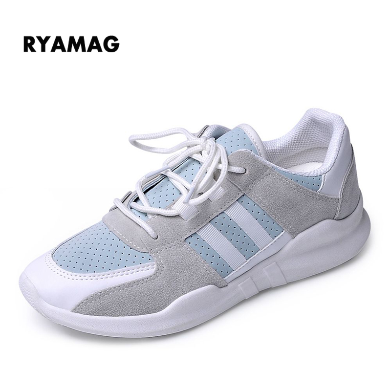 2018 Women's Air Mesh Sneakers breathable flat platform shoes Female Sneakers fashion casual shoes for girls air tenis boots fashion embroidery flat platform shoes women casual shoes female soft breathable walking cute students canvas shoes tufli tenis
