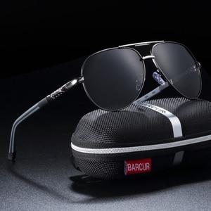 BARCUR Men Sunglasses Brand Or