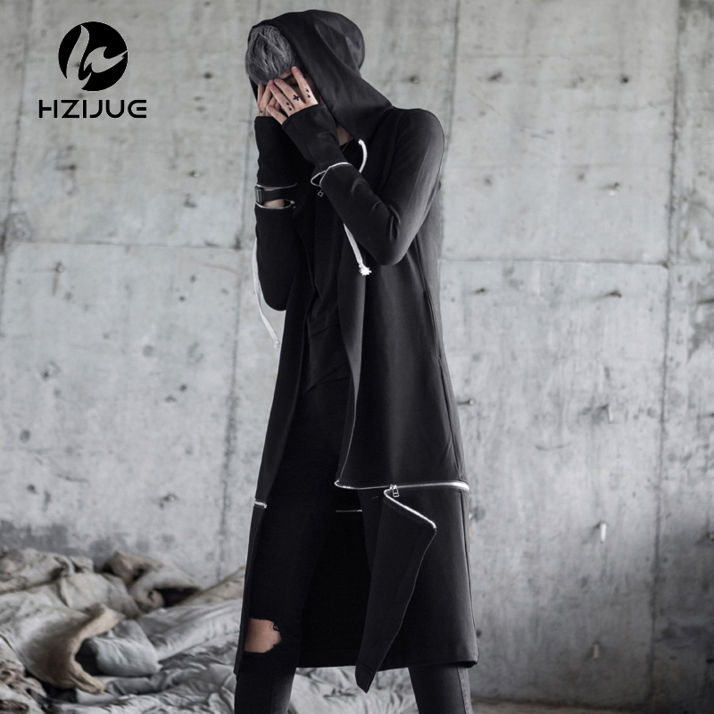 Men Hooded Sweatshirts With Black Gown Best Quality Hip Hop
