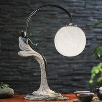Creative new Chinese Table Lamps retro living room lamp study bedroom modern minimalist art lamp bedside lamp LU812263