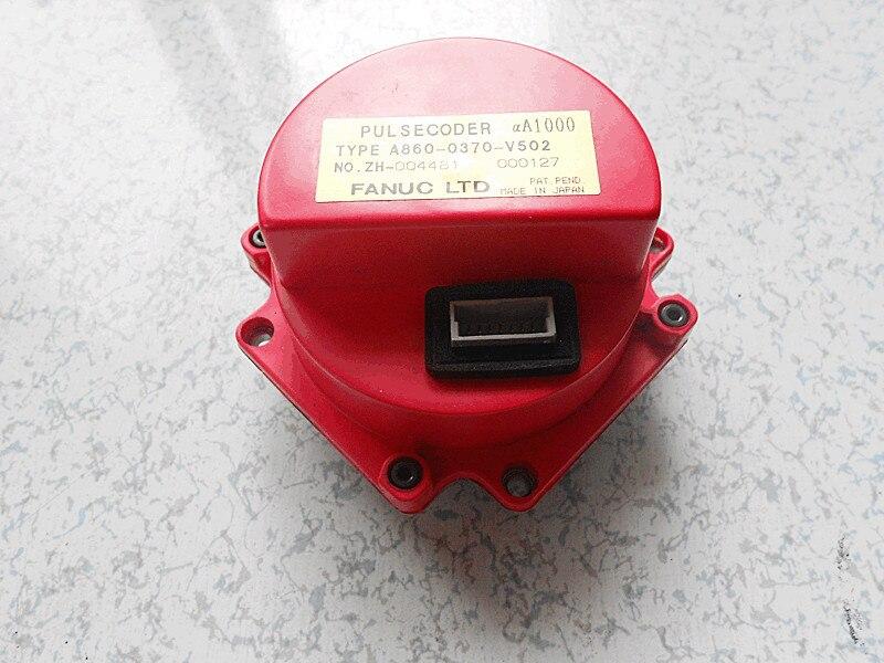 Fanuc pulsecoder A860 0370 V502 ДЛЯ Alpha A1000 cnc серводвигатель переменного тока кодер