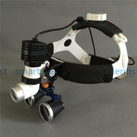 Good Quality New 5W LED Surgical Head Light dental Lamp All in Ones Headlight with loupes 2.5X ,3.5X , 5.0X , 6.0X