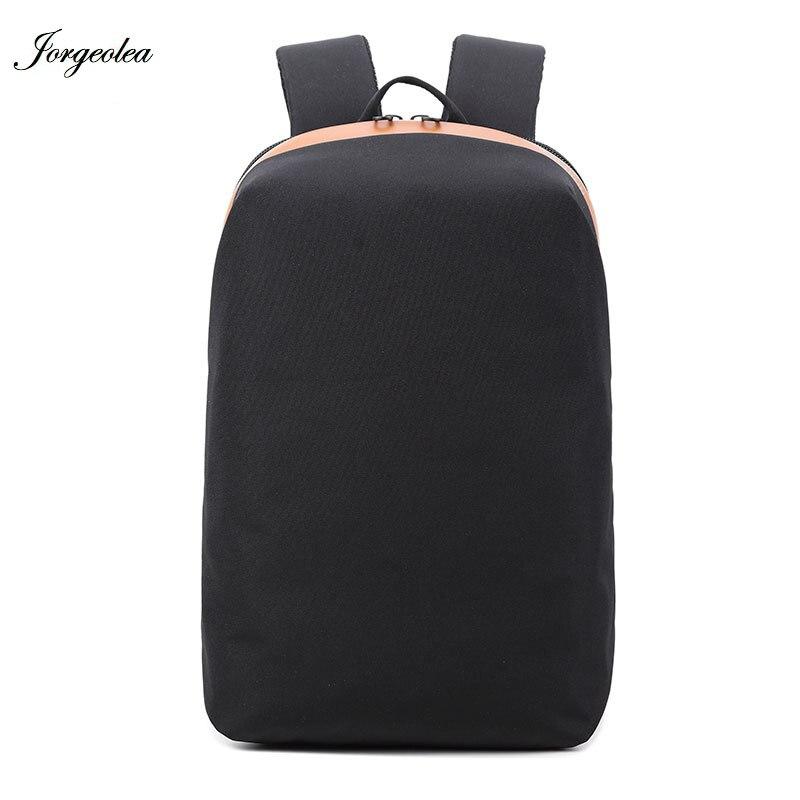 Jorgeolea Business Computer Backpack Solid Backpack Men Shoulders Bag High Quality Shoulders Labtop Bag Men Travel Bags 170726