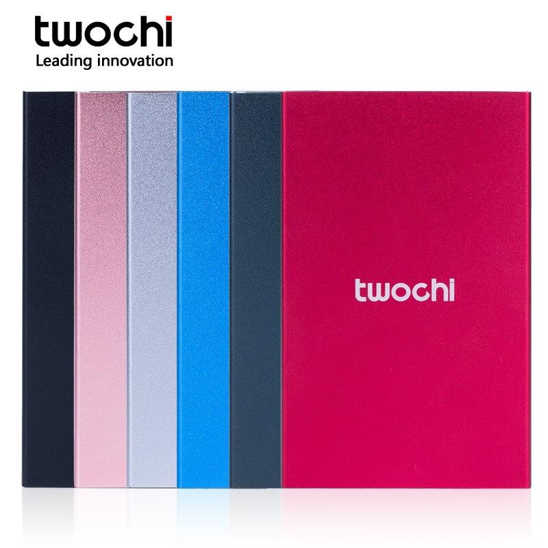 Twochi 2,5 hdd 120 Gb 160 Gb Usb3.0 Externe Festplatte Festplatte Hd Disco Duro Externo Für Desktop Laptop Metall 6 Farbe Computer & Büro Externe Festplatten