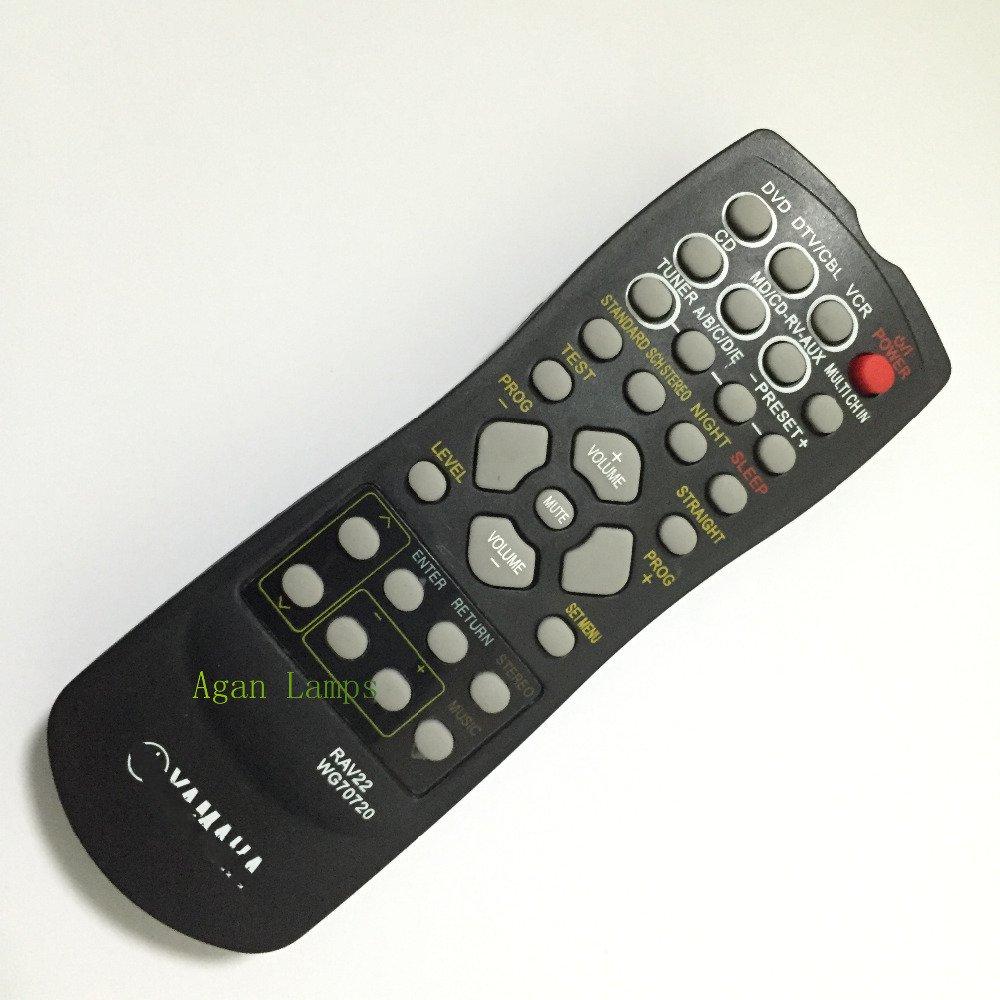 CN-KESI FIT YAMAHA RAV22 Remote RX-V340 RX-V350 RX-V357 RX-V359 RX-V390 HTR58 RX-V357 HTR5830 RX-V459 HTR5630 HTR5830 HTR5730 universal remote control suitable for yamaha rav22 wg70720 home theater amplifier cd dvd rx v350 rx v357 rx v359 htr5830