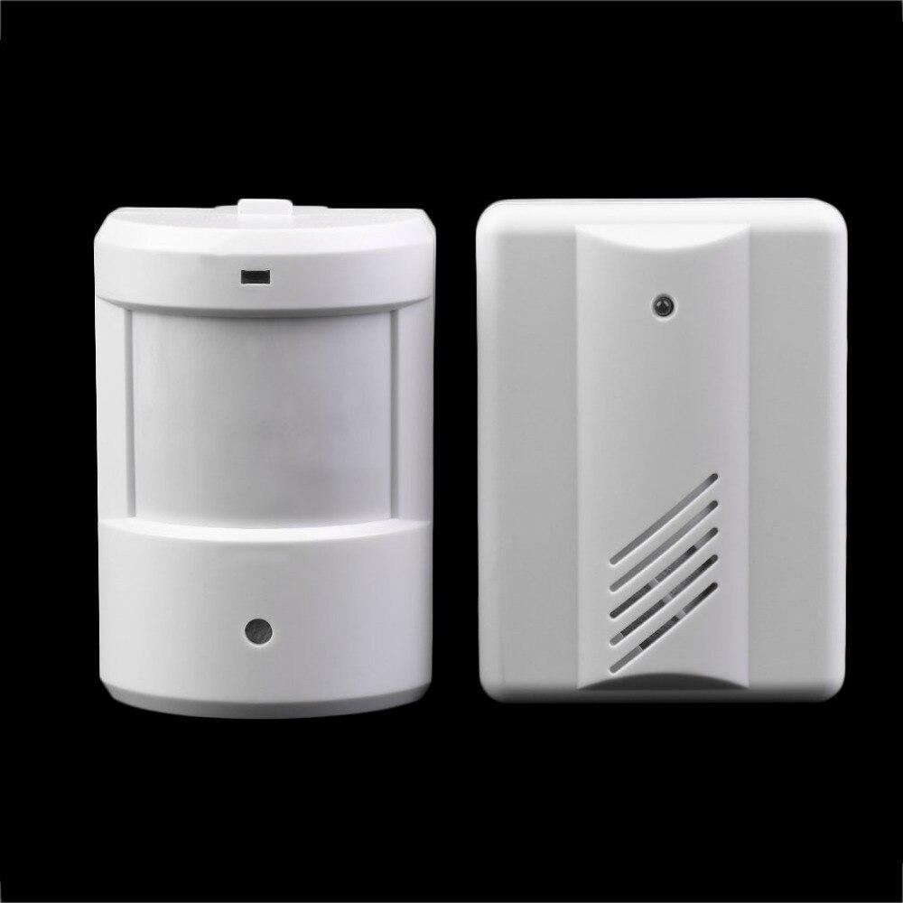 Wireless Detector Driveway Patrol Garage Alarm Infrared Doorbell Alarm System Motion Sensor Home Security Alarm Motion Sensor digital wireless doorbell driveway garage motion sensor alarm infrared wireless alarm system with mount door bell