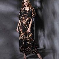 Платья Для женщин Летняя мода печатных праздничное пляжное платье образным вырезом пикантные Стиль одежда высокого качества Бесплатная до