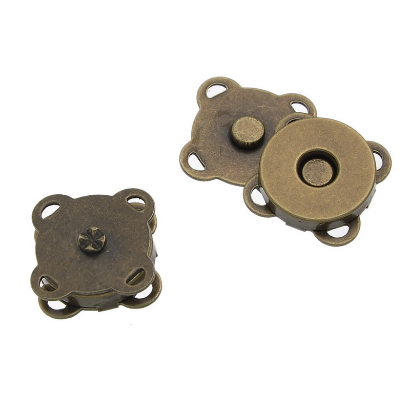 Magnetic Hematite Magnetic Clasps Flower Antique Bronze 15mm( 5/8) x 15mm( 5/8), 2 PCs newMagnetic Hematite Magnetic Clasps Flower Antique Bronze 15mm( 5/8) x 15mm( 5/8), 2 PCs new