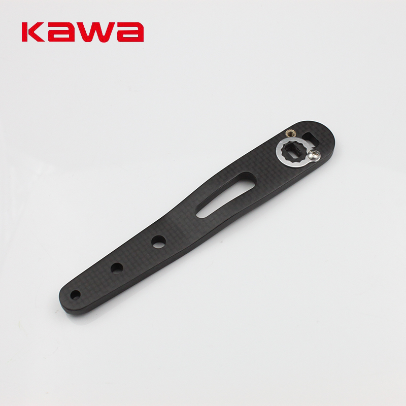 Kawa New Design Fishing Rocker, For Drum Wheel, High Carbon, Double Holes Fishing Reel Handle for Abu and Daiwa Baitcasting