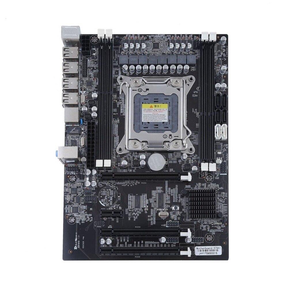 Professionale X79 Desktop Del Computer Mainboard DDR3 Scheda Madre Octa Core CPU Server Per LGA 2011 DDR3 1866/1600/1333