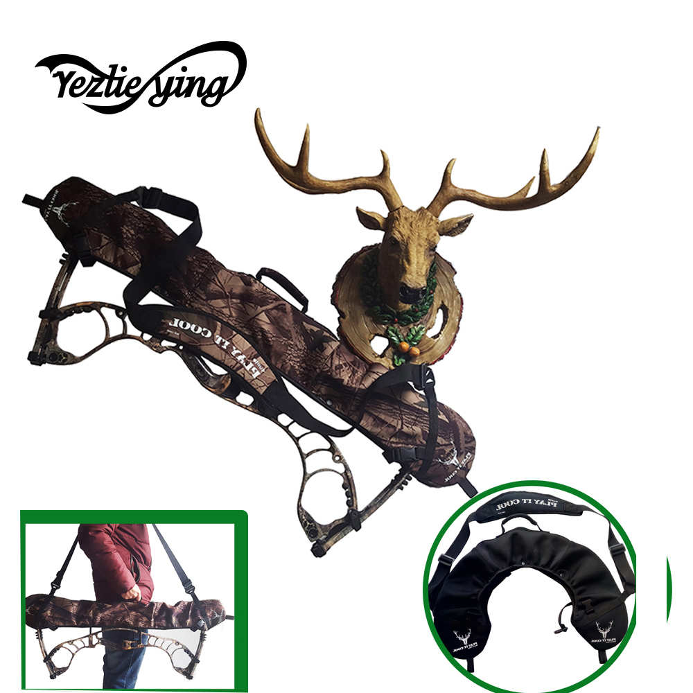 High Quality Hunting Recurve Bow Sling Fabric Compound Bow Carrier Sling Universal Quick Hunting Chasse Archery Bow Bag Case