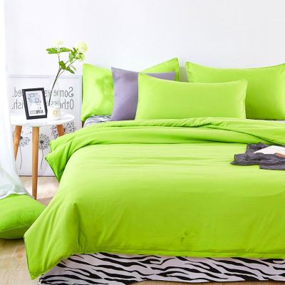 Fruit Green Bedding set 3/4pcs Duvet cover sets bed linen Bed sets include Duvet Cover Bed sheet Pillowcase Queen full twin size