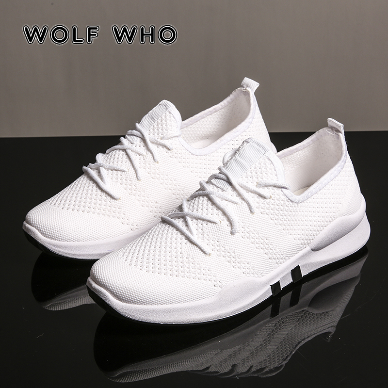 WOLF WHO New Man Shoes Lace Up Fashion Men Casual Shoes Mesh Breathable Low top Male sneakers Non-slip walking krasovki W-020 цены онлайн
