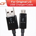 High Quality 100% Genuine USB Data Sync mobile phone Charger Cable For LG G4 G3 G2 G Flex 2 G Pro 2 Nexus 5 4 D585 D802 D958