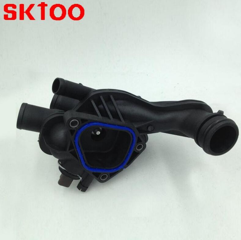 Coolant Thermostat Housing 11537534521 for BMW Mini 11537534521 For Citroen for Peugeot 207 1336 Z6 1336Z6 Auto Thermostat in Thermostats Parts from Automobiles Motorcycles