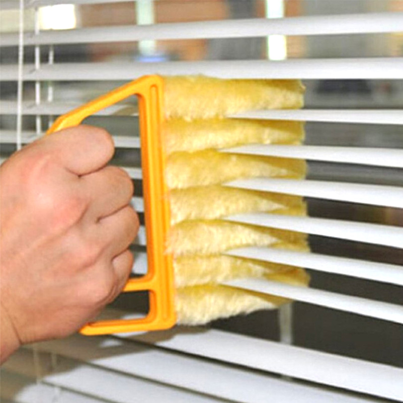 Household Cleaning Tools Blind Blade Cleaning Brush Microfiber Window Cleaning Brush Air Conditioner Duster Cleaner