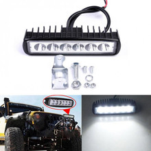 12v Led bar barra led car working light accesorios  work driving tractor truck four-wheel drive Offroad boat
