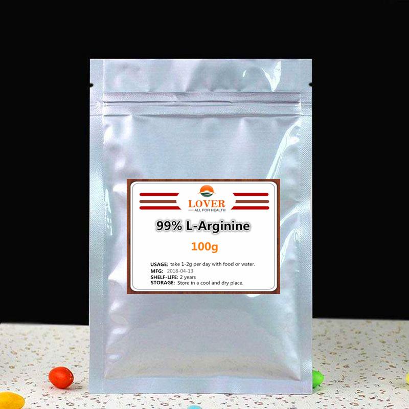 100g-1000g Hight Quality Food Grade 99% L-Arginine powder, L arginine powder,Essential Amino Acid - Nutritional Supplemento 100g vitamin e food grade usa imported page 2