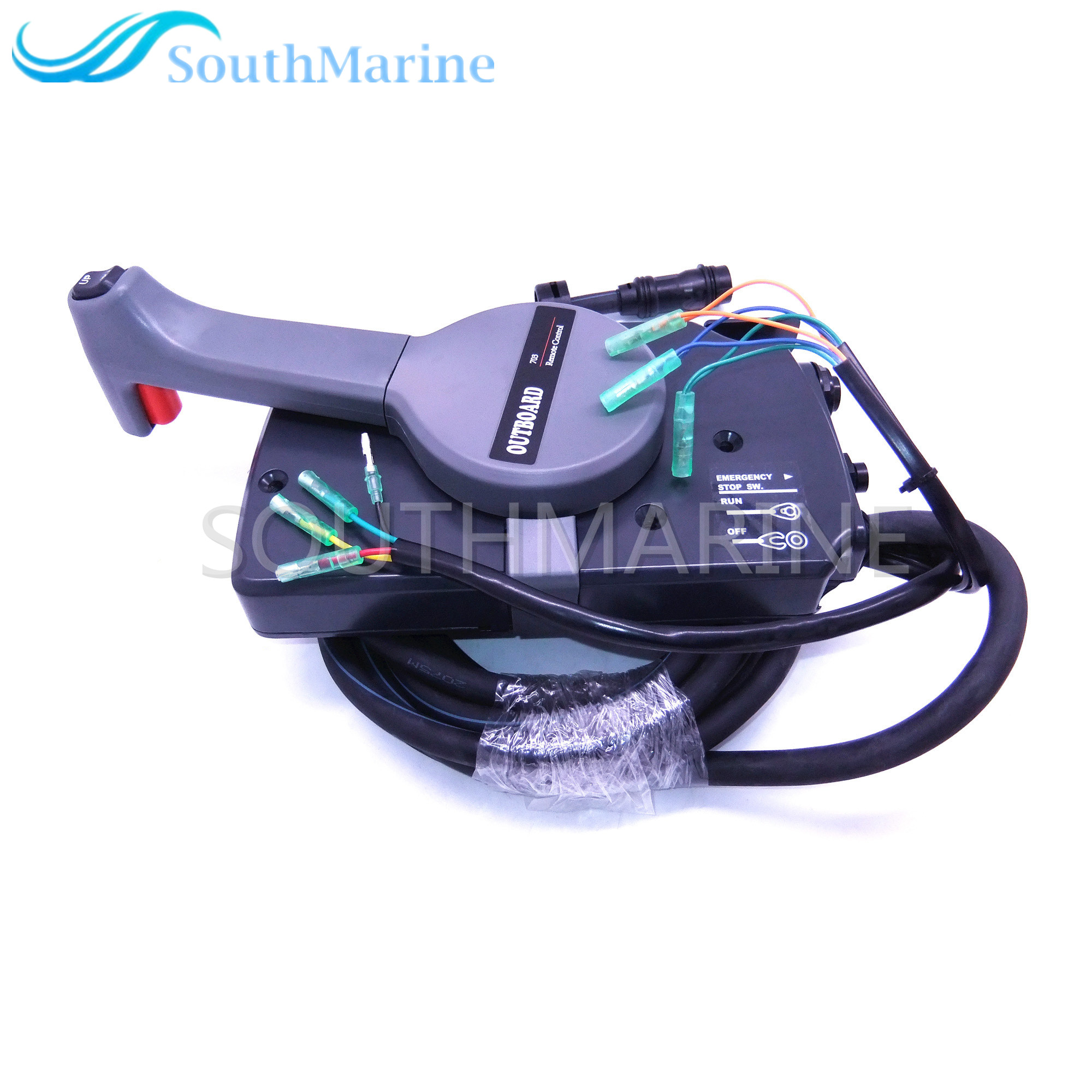 703-48207-22-00 Side Mount Remote Control Throttle Shift Box For Yamaha Outboard Engine 10 Pins Boat Motor , Right hand New Type