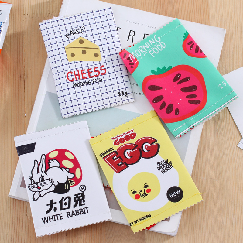 Korean Creative Interesting Snacks PU Pocket PURSE Coin Purse Mini