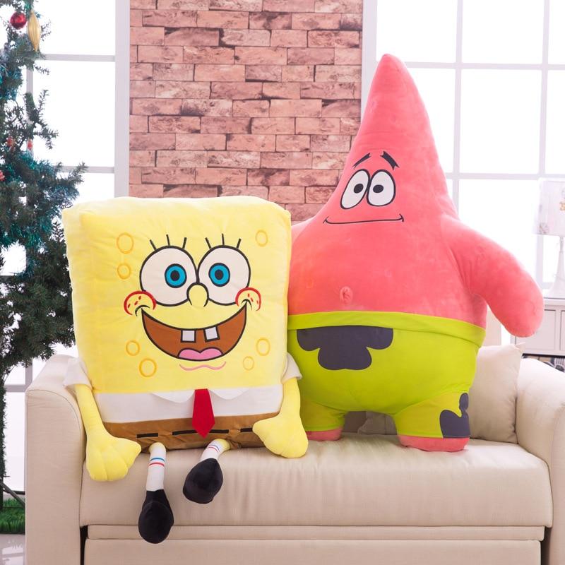 Hot Sponge Bob Kids Soft Knuffels Knuffels Baby kussen Animal Cartoon - Poppen en knuffels - Foto 5